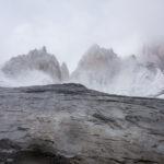 angezuckerte Gipfel der Fitz Roy Kette