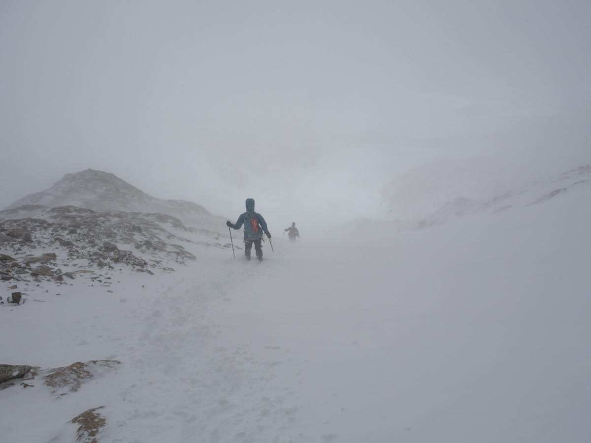 Abstieg Richtung Marconi Gletscher