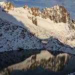 viel Schnee auf Höhe Piedra Nedra