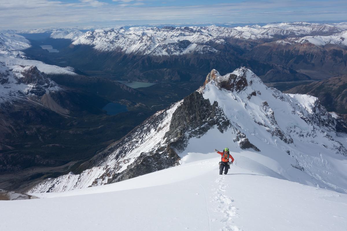 Gipfelschneefeld an der Guillaument