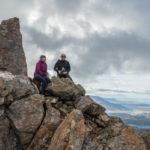 Am Gipfel des Cerro Madsen