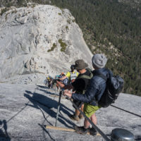 Abstieg vom Half Dome