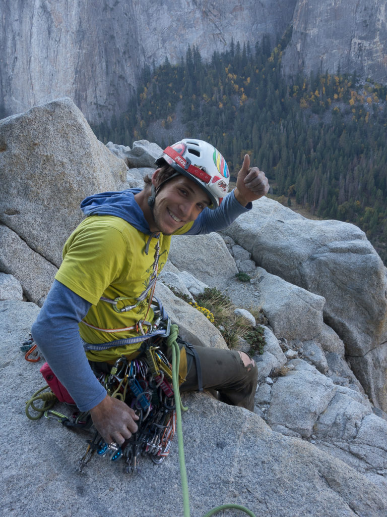 Mammoth Ledges, die Motivation ist hoch, der Fels noch kalt.