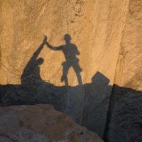 Soweit so gut! Sonnenuntergang am El Cap Spire.