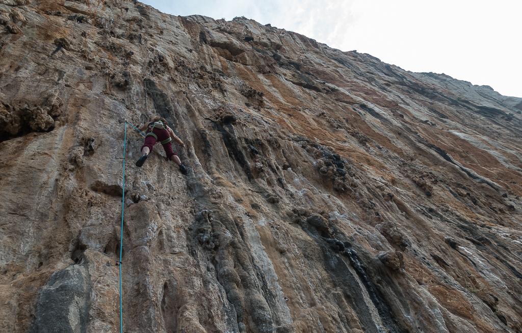 Never Sleeping Wall Klettern Sizilien San Vito Lo Capo