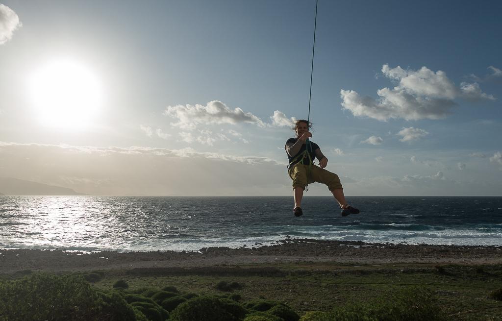 Campo Base, klettern direkt am Meer
