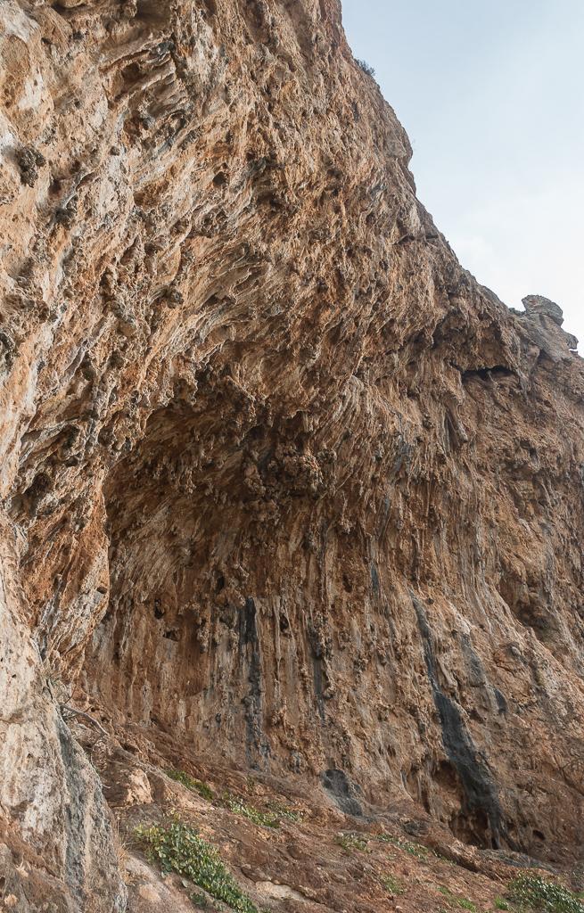 Klettern Sizilien San Vito Lo Capo Lost World tufas