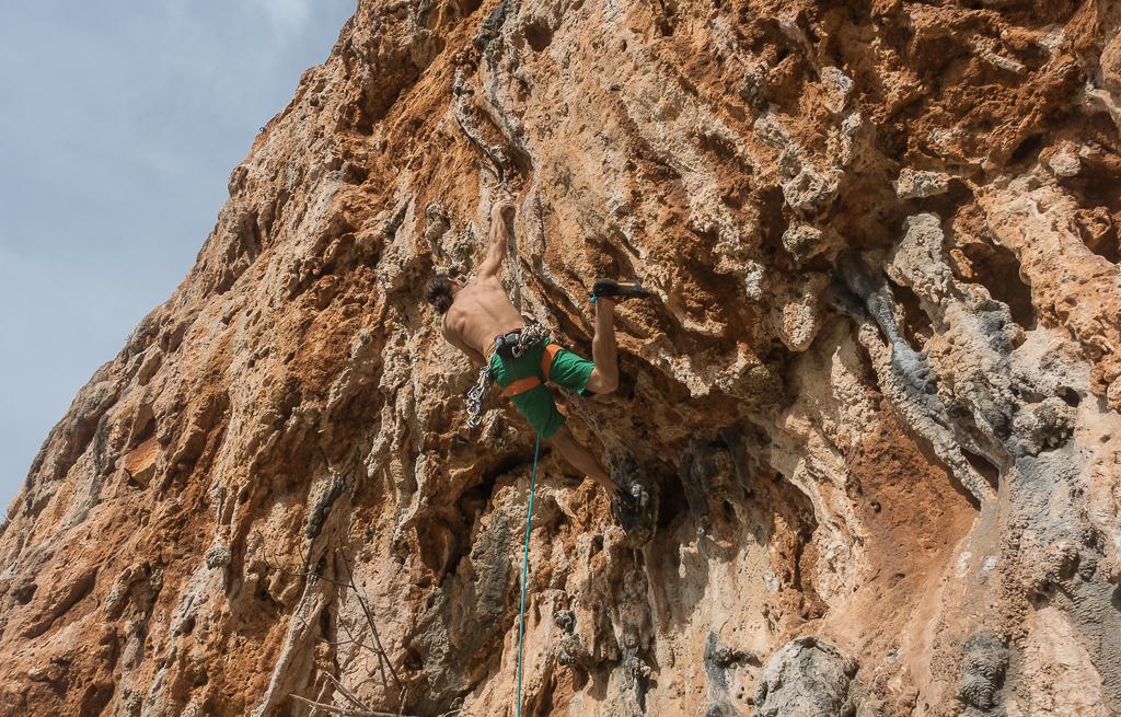 Klettern Sizilien San Vito Lo Capo