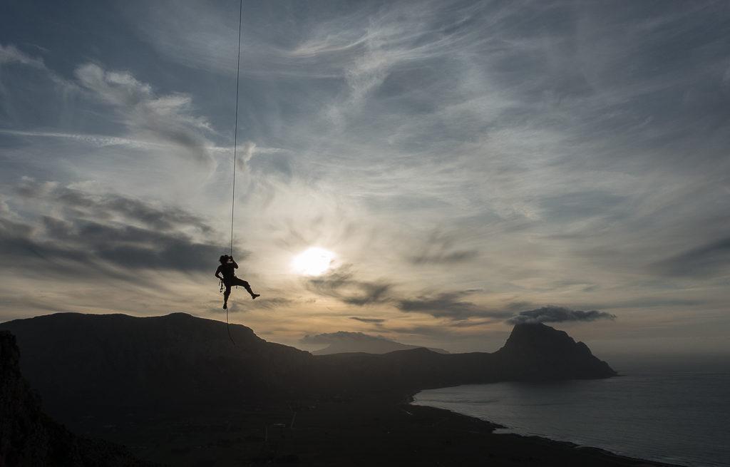 Lost in Space Klettern Sizilien San Vito Lo Capo