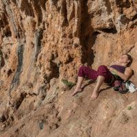 Chillen im Sektor Lost World Klettern Sizilien San Vito Lo Capo