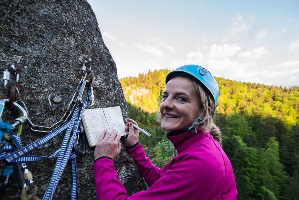 Gipfelbucheintrag Spass Mönch Mühlviertel