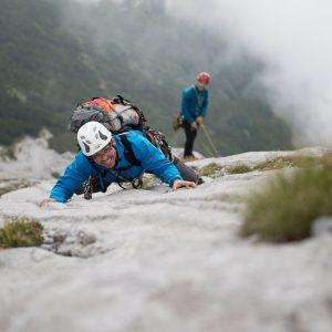 alpinklettern Spass Vorstieg