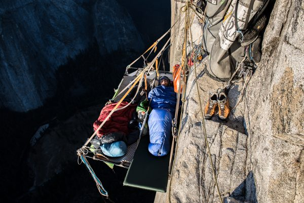 Yosemite El Capitan Protaledge Biwak Big Wall