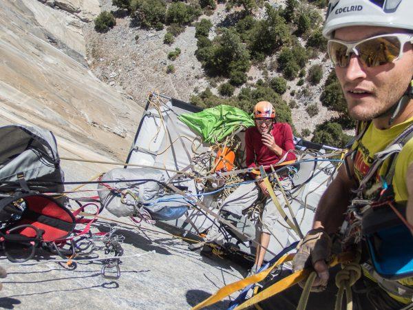 El Capitan Techno Klettern Stefan Brunner Yosemite