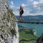 Drachenwand Klettersteig Seibrücke