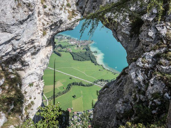 Drachenwand Klettersteig Drachloch Mondsee