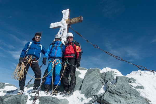 Großglockner Normalweg Gipfelkreuz