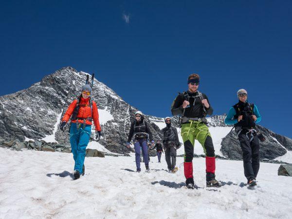 Großglockner Normalweg Spass am Berg