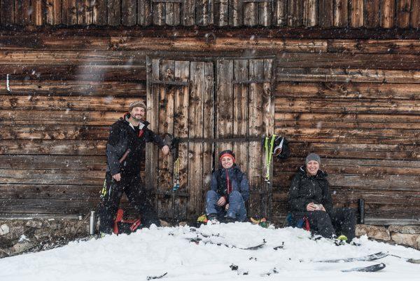 Schnupper Skitour Hüttenrast mal anders