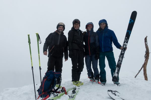 Schnupper Skitour Gipfel Kreuzbauernspitz