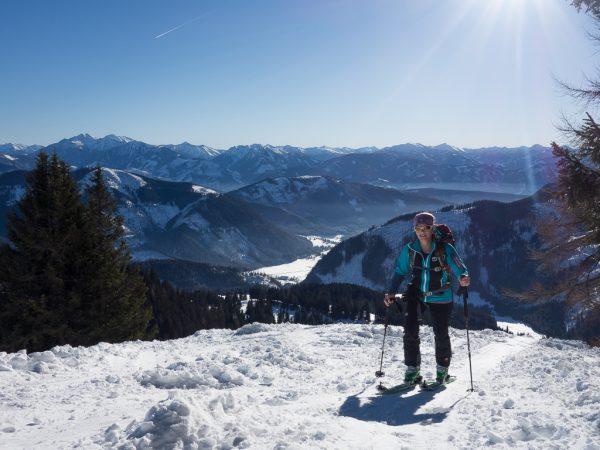 Schnupper Skitour Kreuzbauernspitz Gammering Gscheidriedl