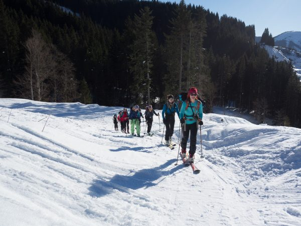 Schnupper Skitour Skitourengruppe