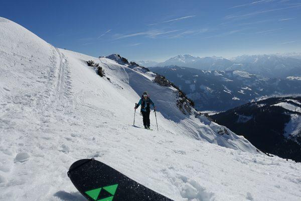 Leichte Skitour für Genießer Lahnerkogel