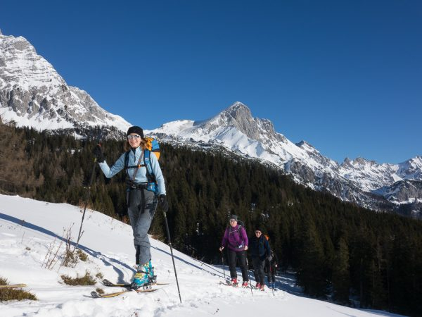 Leichte Skitour für Genießer