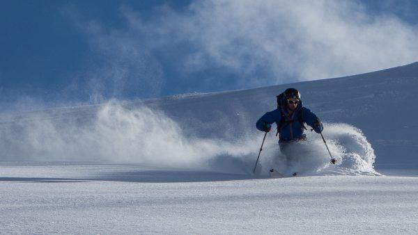 Schnupper Skitour Pulverschnee