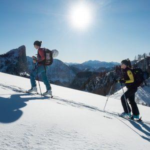 Damen Skitour