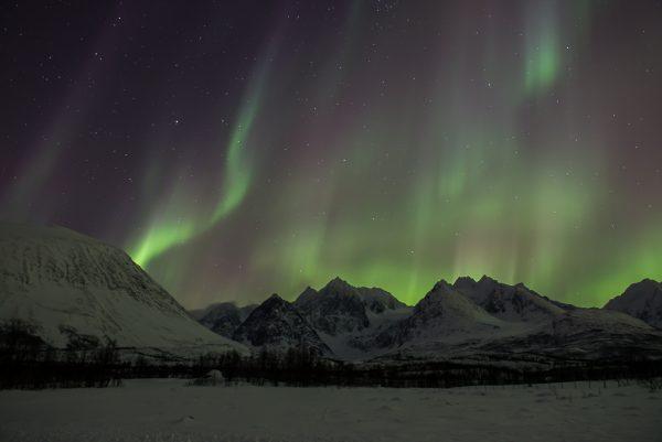 Lyngen Alps Aurora Borealis Nordlichter