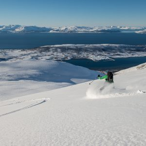 Lyngen Alps skiing