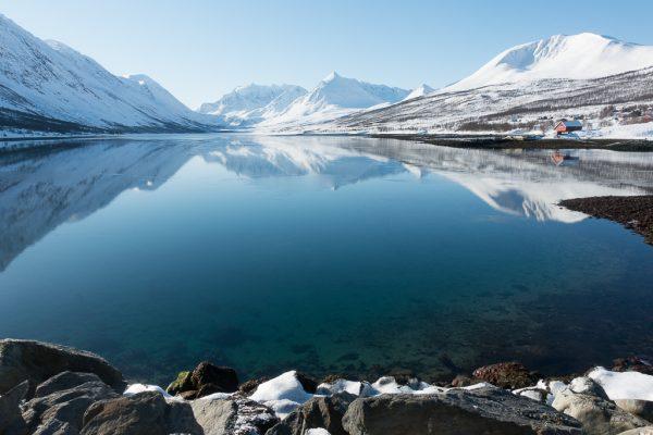 Lyngen Alps skiing Fjordblick
