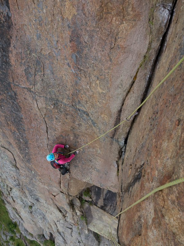 Trad Klettern Lofoten