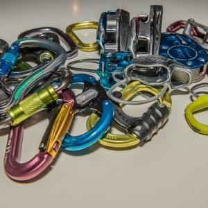 Sicherungsgeräte Verschlusskarabiner