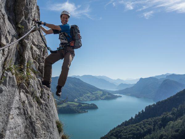 Klettersteig Drachenwand