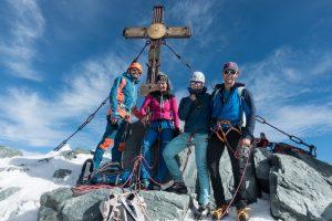 Am Gipfel! Großglockner 3798m
