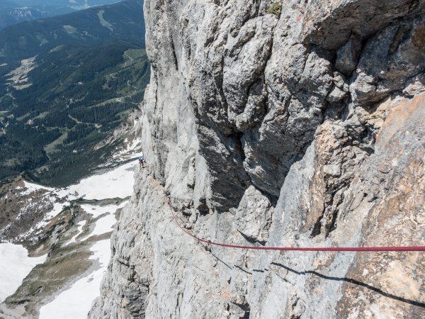 Perfekter Dachsteinkalk im Steinerweg