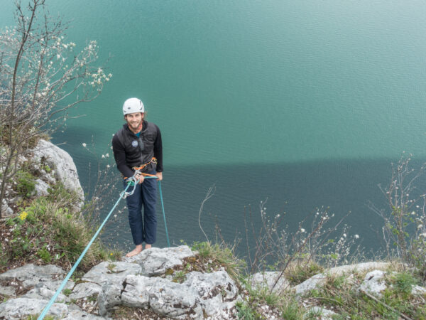 Seenot Abseilen zum Einsteig. Wolfgangsee